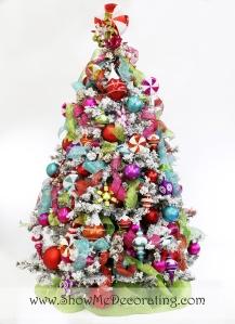 Christmas Confection Christmas Tree Theme
