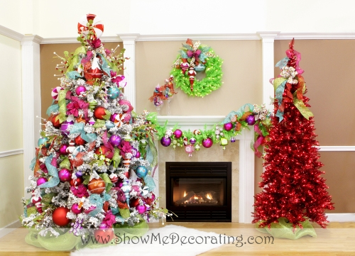 Christmas Confection Christmas Tree Theme