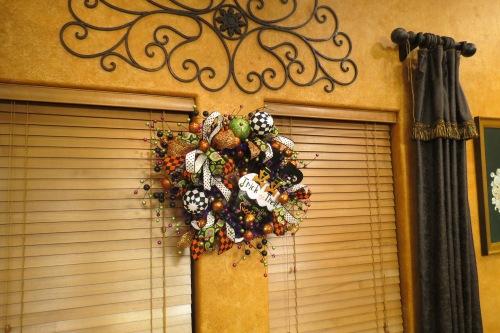 Halloween Wreath,