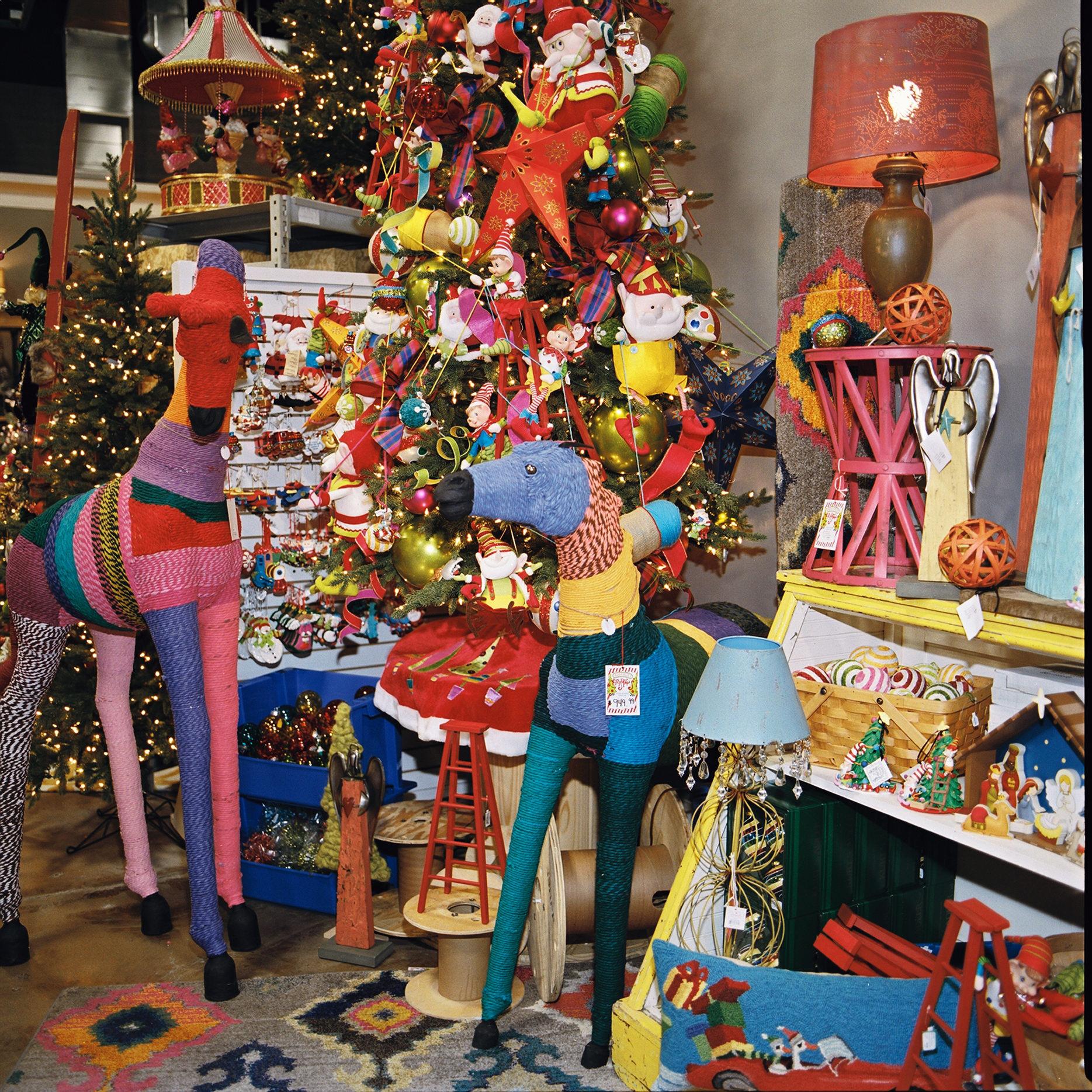Decorate Christmas Tree Like Department Stores: Christmas Tree Ideas