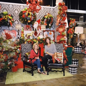 Miss Cayce's Christmas Store 2013 tour, owners and sister's Kathy and Becky
