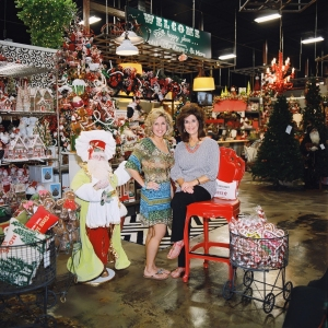 Miss Cayce's Christmas Store, sisters and owners Kathy and Becky, Welcome to your Happy Place!