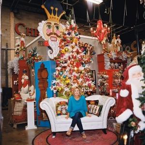 Miss Cayce's Christmas Store tour, The Christmas Nutcracker tree theme.
