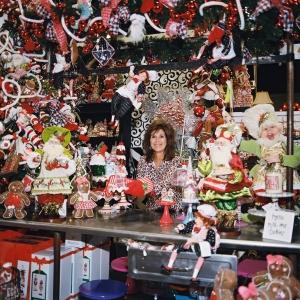 Miss Cayce's 2013 Store Tour, Santa's Kitchen Christmas tree theme