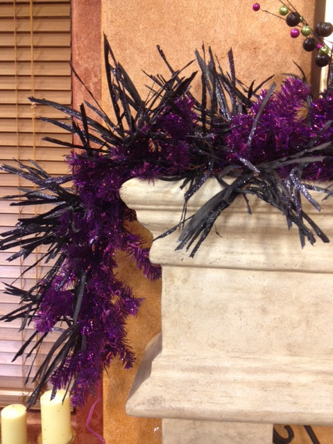Halloween Decorations, Purple Garland