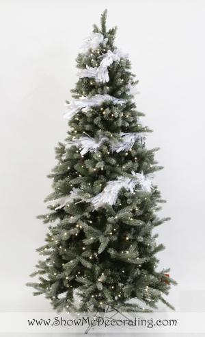 Winter Whimsy Christmas Tree Theme