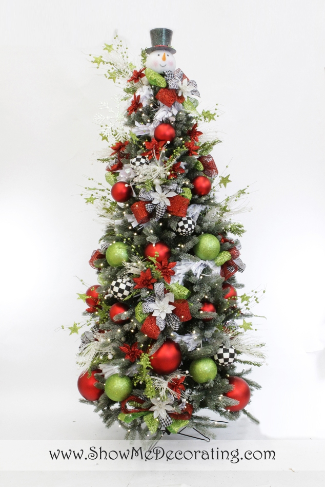 Winter Whimsy  Christmas Tree Theme
