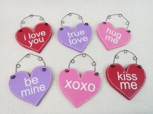 adamsandco, conversation hearts, show me decorating, valentines