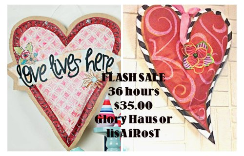 glory haus Valentine, lisa frost heart