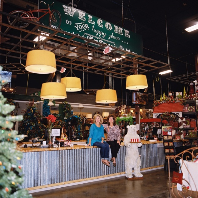 "Miss Cayce's Christmas Store, your NEW ""Happy Place"""