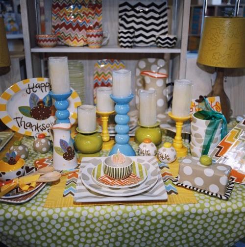 coton color seasonal, seasonal plates, thanksgiving plates, fall plates, fall table decor