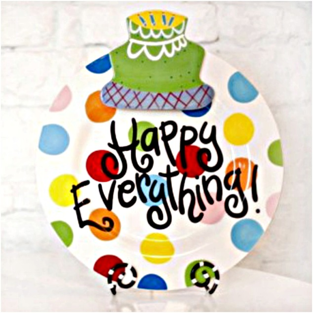 happy everything, coton-colors, colorful plates