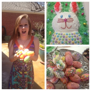 Rebecca's Easter eggs and dessert treats