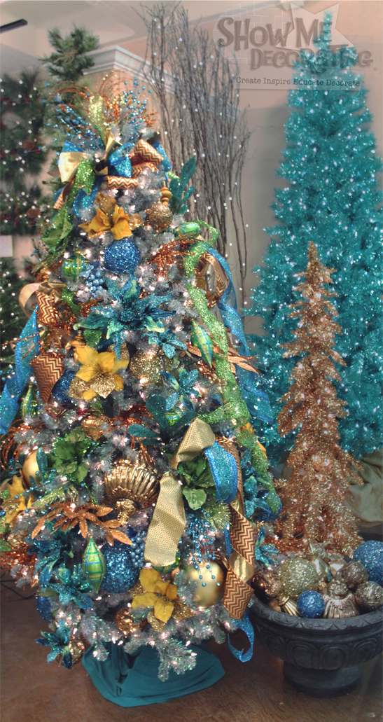 peacock christmas tree theme peacock decorations turquoise christmas tree decorations